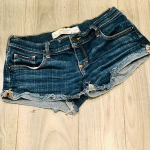 Abercrombie & Fitch Micro Jean Shorts